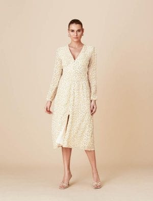 ADOORE PARIS DRESS LEMON