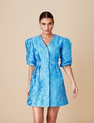 ADOORE RETRO DRESS BLUE