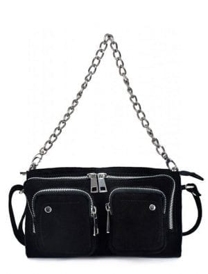 NUNOO Stine chain , Suede black, One Size
