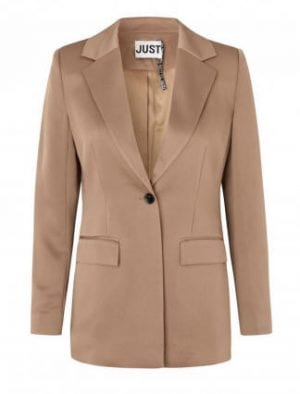 JUST CADY BLAZER WALNUT