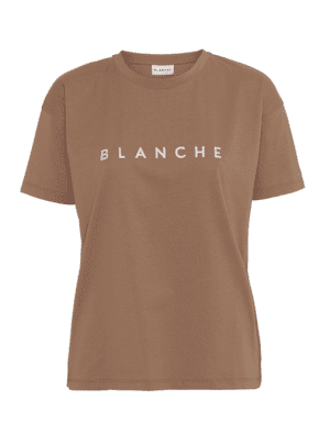 BLANCHE MAIN CONTRAST T-SHIRT/TOP TOASTED