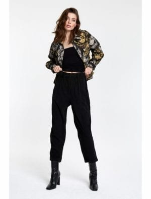 ALIX THE LABEL LADIES WOVEN RIBCORD PANTS