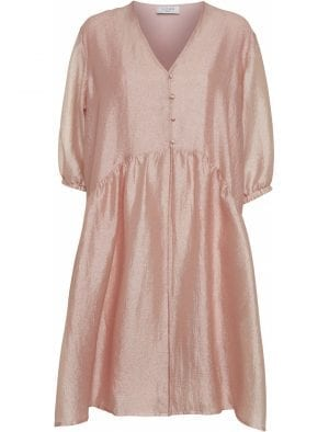NORR SIMONE DRESS, PINK