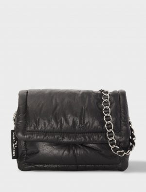 MARC JACOBS THE PILLOW BAG BLACK