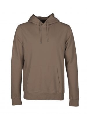 COLORFUL STANDARD CLASSIC ORGANIC HOOD WARM TAUPE