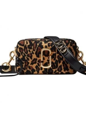 MARC JACOBS THE SOFTSHOT 21 LEOPARD BLACK MULTI