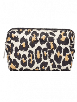 MARC JACOBS THE BEAUTY TRIANGLE POUCH LEOPARD