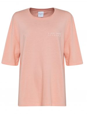 AVENUE TROPICALE TEXAS TEE A GIRL FROM IPANEMA CORAL
