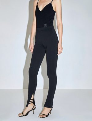 MISS SIXTY TROUSERS BLACK