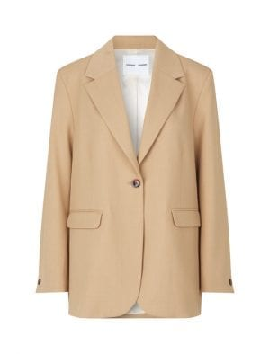 SAMSØE HAVEN BLAZER CAMEL