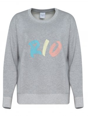 AVENUE TROPICALE VIRGINIA RIO SWEAT GREY MELANGE