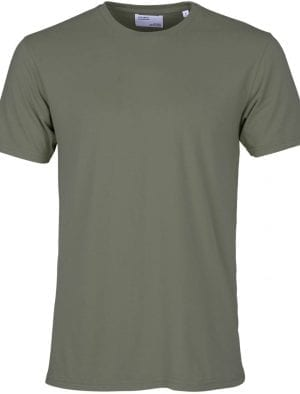 COLORFUL STANDARD CLASSIC ORGANIC TEE DUSTY OLIVE
