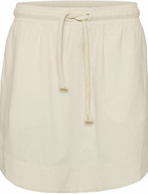 NORR RAYES SKIRT OFF WHITE