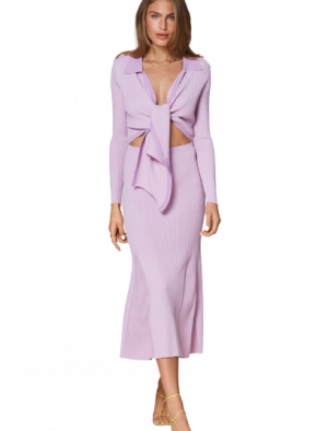 ADOORE KNITTED RIVIERA SET LILAC