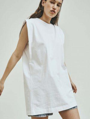 NORR NOVA DRESS WHITE