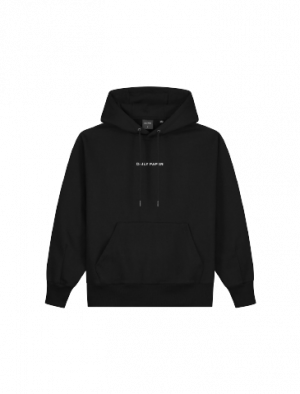 DAILY PAPER LEVIN HOOD BLACK