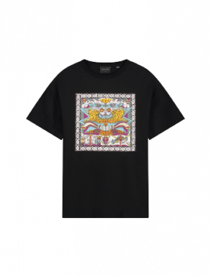 DAILY PAPER LEVIN SS T-SHIRT BLACK