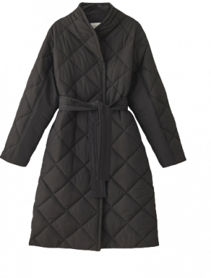 NORR ALMA QUILTED JACKET BLACK